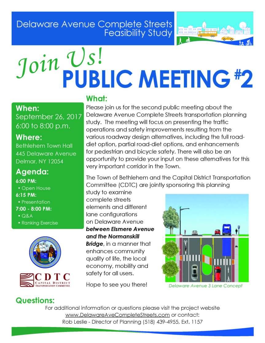 Delaware Ave Public Meeting 9.26.17